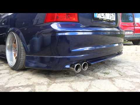 Opel Vectra B 3.0 V6 60mm Exhaust, One Resonator And