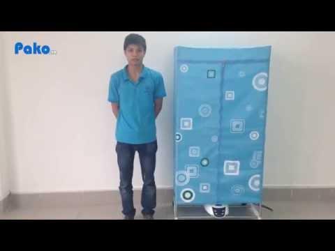 [Pako.vn] Giới thiệu& và hướng dẫn sử dụng máy sấy quần áo panasonic HD-882F / 8828FD