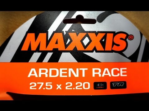 Maxxis Ardent RACE 27.5 X 2.2 EXO TR Vs Ardent 27.5 X 2.25 - Quick Comparison
