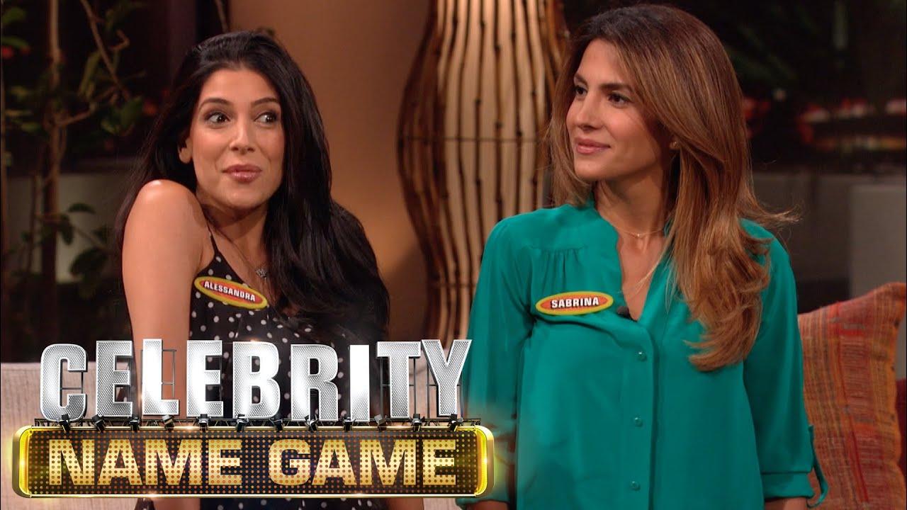 Celebrity name game episode 47