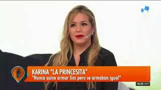 Fuerte pase de factura de la Princesita Karina a Marina Calabró: La hizo llorar en vivo en #Intrusos