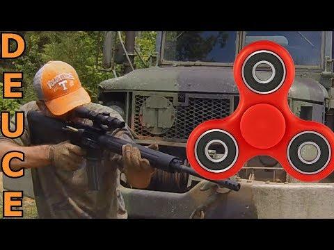 20000RPM Fidget Spinner Vs. AR-15!