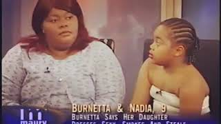 Little 9-Year-Old Girl On The Maury Show Has No Respect At All!