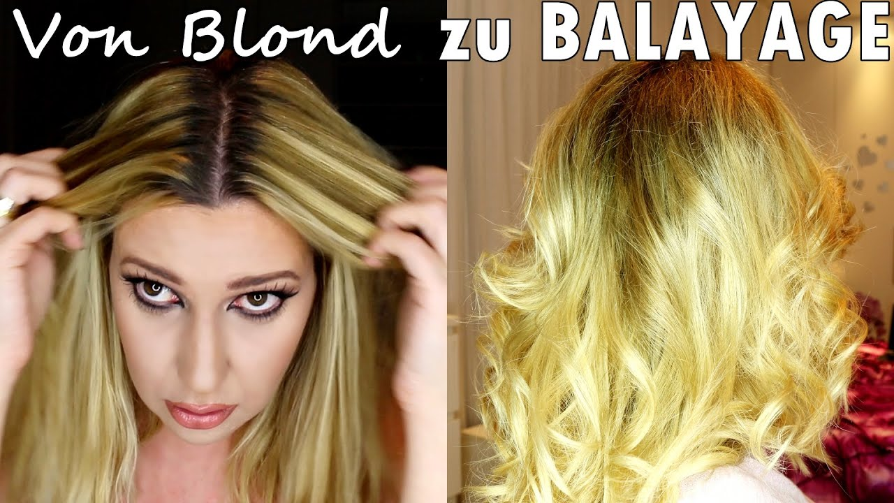 diy von blond zum perfekten balayage zu hause elen pruefer youtube. Black Bedroom Furniture Sets. Home Design Ideas