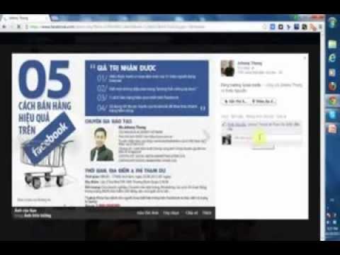 5 Cách bán hàng hiệu quả nhất trên Facebook (Facebook Marketing)