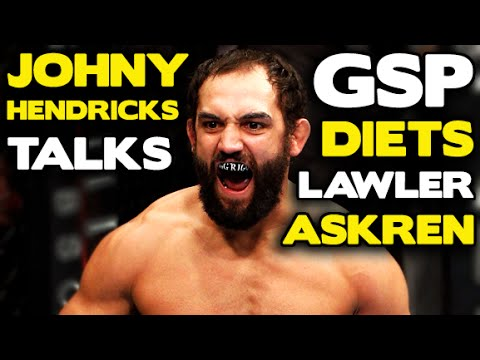 Johny Hendricks: Tough losses, Extra muscle, Rory MacDonald vs Robbie Lawler, who wins, GSP