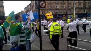 Irish Republican Martyrs Flute Band, Calton, Glasgow 110910 Part2