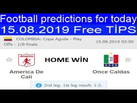 today-football-prediction-15.08.2019-free