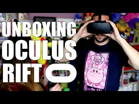 UNBOXING OCULUS RIFT + TOUCH