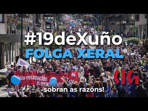 #19deXuño - Folga Xeral - CIG (con imaxes do 1ºdeMaio)