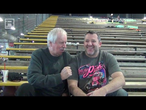 RACER: Robin Miller at the Chili Bowl with Tony Stewart