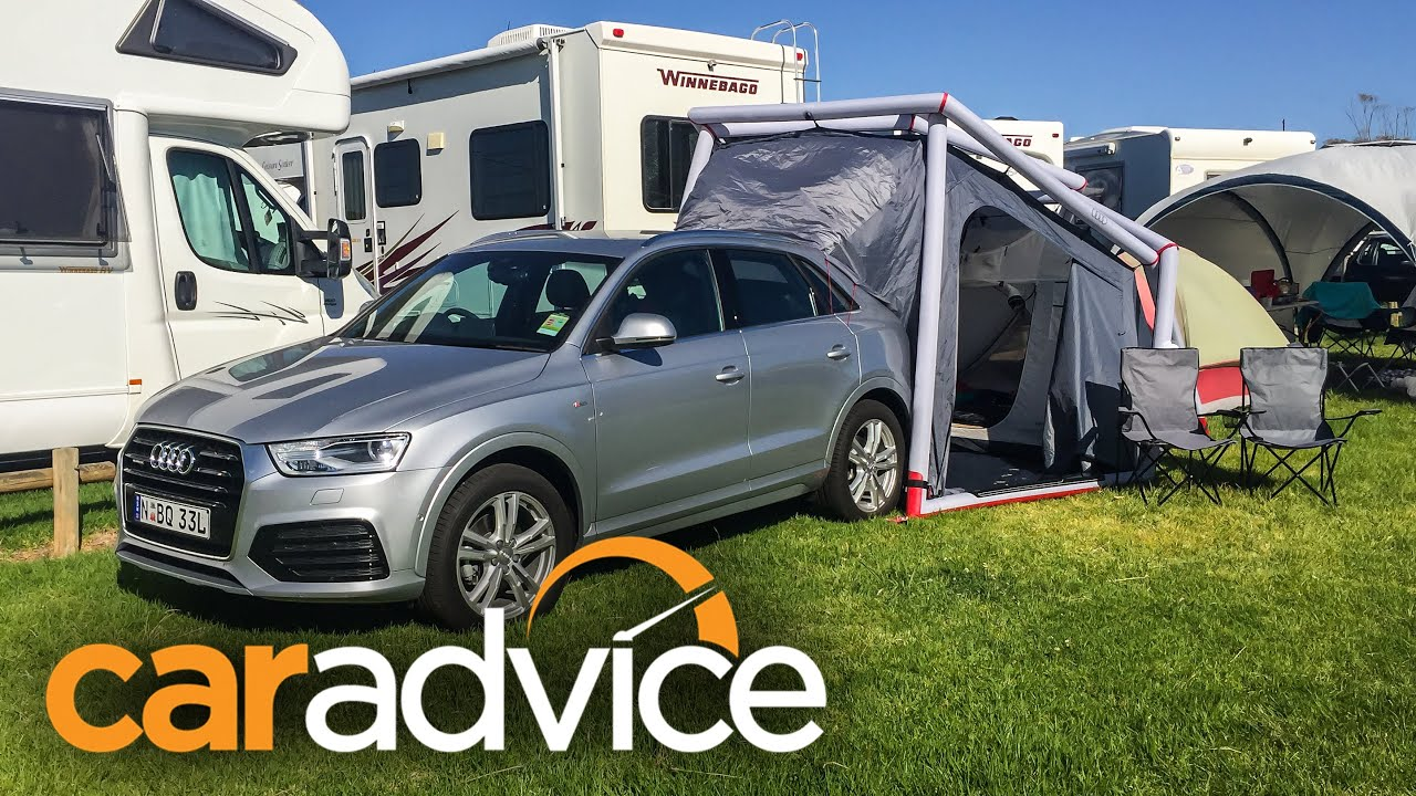 Audi Q3 Camping Tent Demonstration Youtube