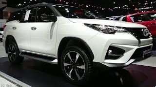 2019 Toyota Fortuner 2.8 TRD Sportivo 4WD Walkaround Exterior & Interior