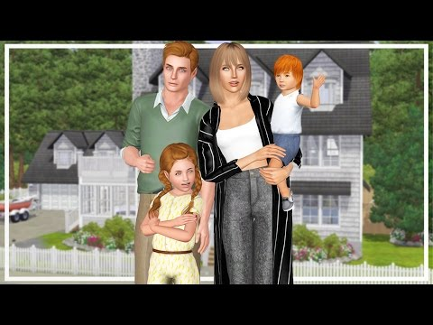 The Sims 3 Current Household: The Cooper Family (January 201