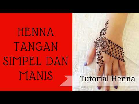 Henna Hand simple and Sweet #01