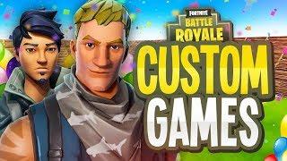 Fortnite Custom Games |Fortnite Live Deutsch #aveez #apokalypto #VantageRC #customgames