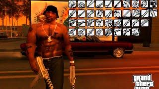 Grand Theft Auto: San Andreas (PC) - All Weapons demonstration - [Демонстрация всего оружия]