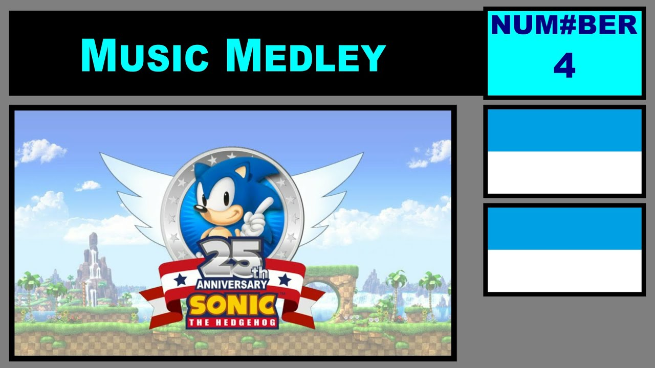 Download Music Medley #4 -- Sonic 25th Anniversary Tribute