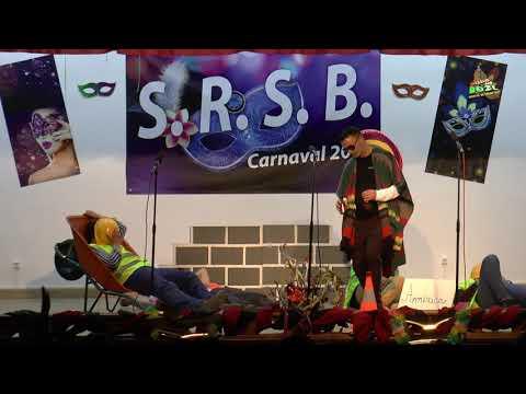 Comedia da C P da Feteira Grupo Viciados do Carnaval O muro do Trump e a cerveja mexicana 3Mar2019