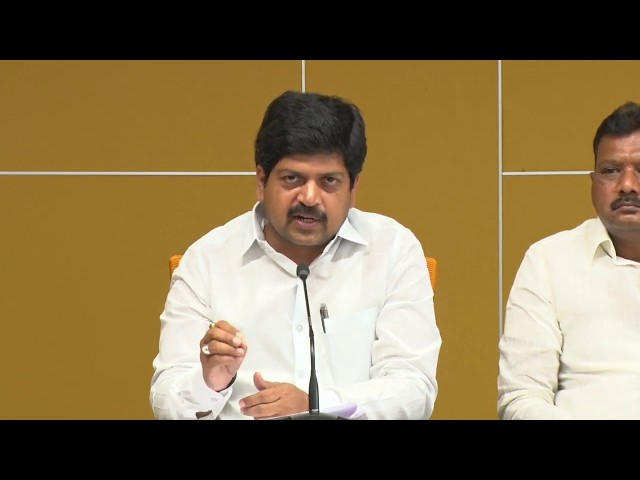 TDP Leaders Addressing the Media About Capital Amaravati Issue - Live.
