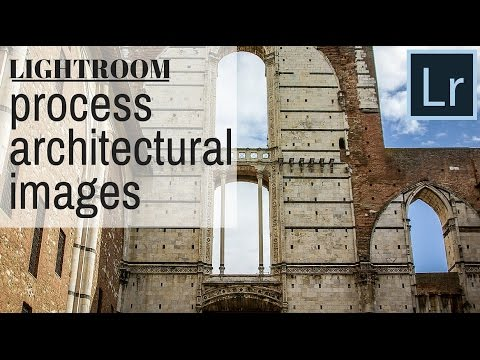 Process Architectural Photos in Lightroom - get the best out of buildings and ruins