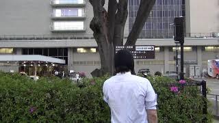 横山緑 NHK放送センター前でNHKをぶっ壊す!演説