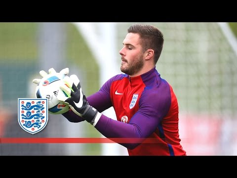 England Goalkeepers Butland, Forster & Heaton Tested!   Inside Training