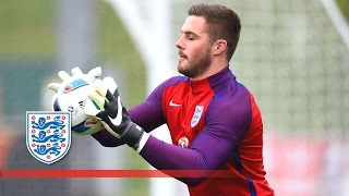England goalkeepers butland, forster & heaton tested! | inside training