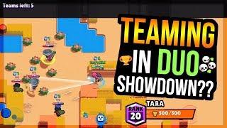 TARA To 500 With Randoms in Duo Showdown! Thousand Lakes - Brawl Stars