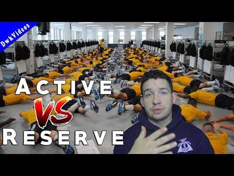 Active Duty VS Reserve - NAVY 2018