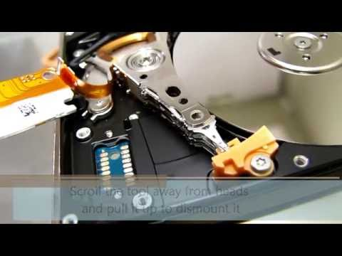"HddSurgery - Head replacement process on 2.5"" Seagate hard drives"