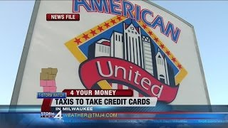 Milwaukee cab company installs credit card machines