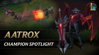 Aatrox Champion Spotlight | Gameplay - League of Legends