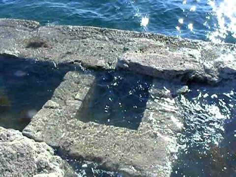 Grandes marées Saint-Malo : Marée Montante au pétit bé 4
