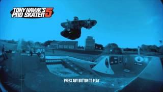Tony Hawk's Pro Skater 5 Title Screen (X1, PS4, X360, PS3)