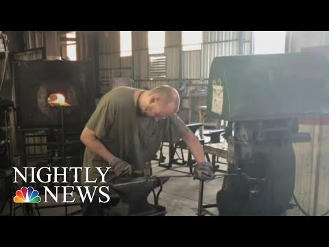 Family Business Proud To Make Its Products In The U.S, But Worried About Future | NBC Nightly News