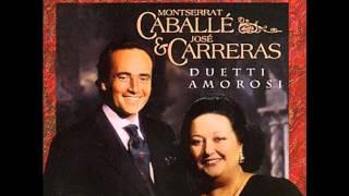 Montserrat Caballe & Jose Carreras. O dolci mani. Tosca. G. Puccini.