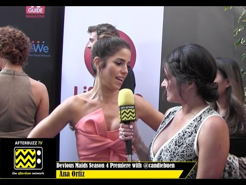 Ana Ortiz  @ the Devious Maids Season 4 Premiere Party