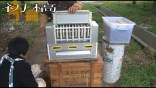 royal jelly collecting machine