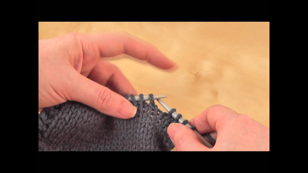 How To Slip Slip Knit Ssk Youtube