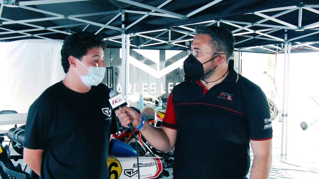 Entrevista Fabián Welter Fecha 1 Fórmula Karts 2021