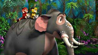 🐾 Лео и Тиг 🐾 Сборник Новых серий | Детям про животных 🐱| Мультфильм HD