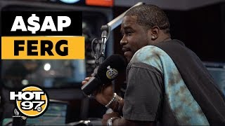 A$AP Ferg On Being Broke, Working w/ Female MC's + A$AP Rocky Calls In!