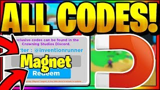 *ALL* OP WORKING CODES! Roblox Magnet Simulator 🚨 UPDATE 17