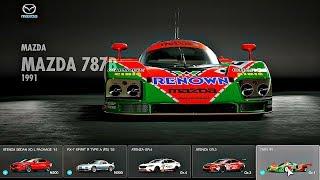 Gran Turismo Sport - All Cars / Full Car List + DLC (July 2018)