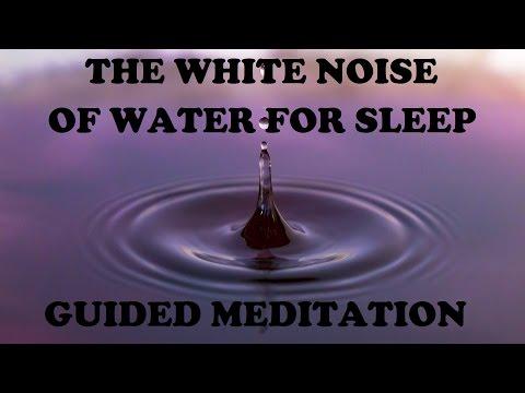 Guided meditation from rain to beach to stream, A Healing sleep talkdown