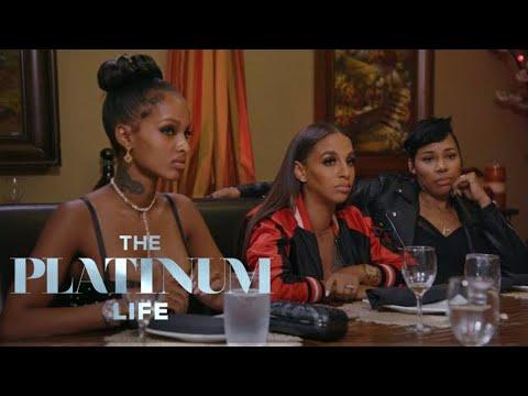 La'Myia & Shantel Stir Up Drama at Nazanin's Dinner  The Platinum Life  E!