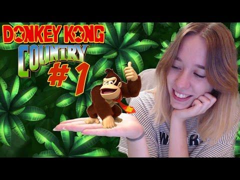 Donkey Kong Country Snes Gameplay Español Parte 1: ¡¡ALLÁ VAMOS!!