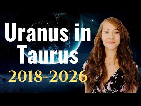 URANUS in Taurus! 2018-2026: DISRUPTION & INNOVATION in Food, Finance, Health and More!