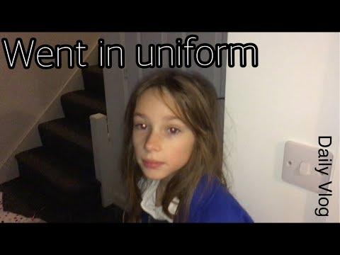 Went in uniform   #dailyvlog #stevesfamilyvlogs